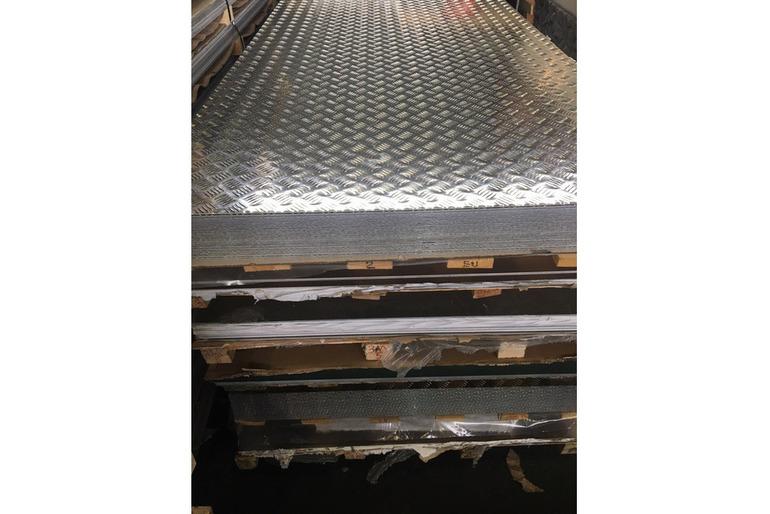 Алюминиевый рифленый лист - КВИНТЕТ